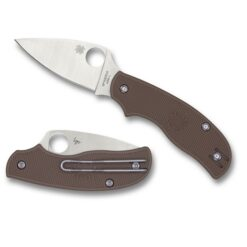 Spyderco Urban Coyote Brown FRN fällkniv sprint